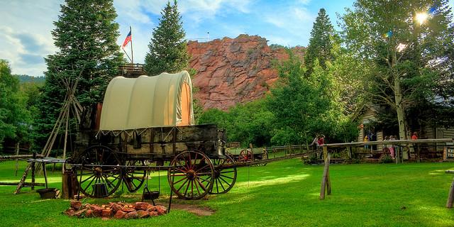 Flying W Ranch Wagon