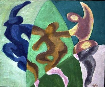 Abstract Trinity (Dumitru Verdianu)