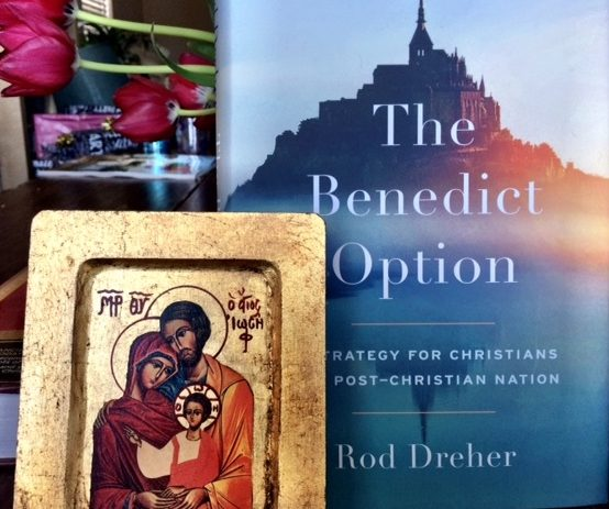 Benedict Option collage